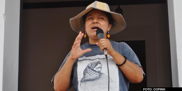 COPINH: con elecciones sigue la resistencia hondureña