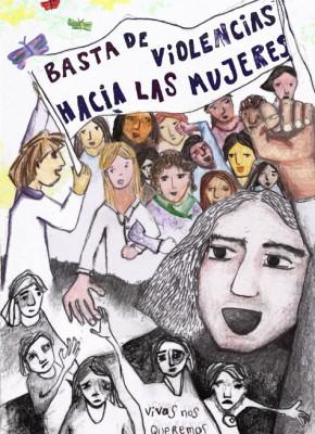 Basta de violencias - Alejandra Andreone