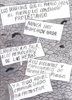 No a la criminalización de la protesta social - Juan Paz