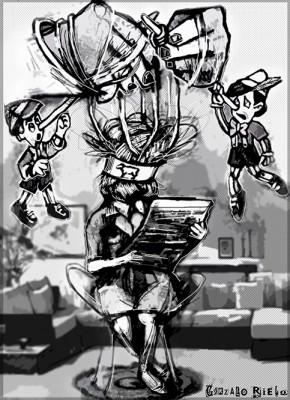 Enmarañar - por Gonzalo Rielo