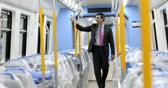 La campaña electoral se sube al tren