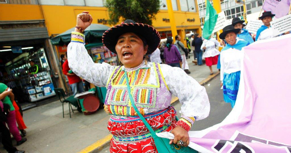 Feminismo campesino, popular y revolucionario