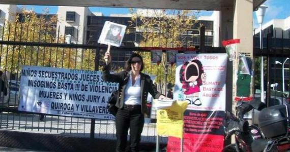 Andrea Vázquez, otra madre que lucha por sus hijos