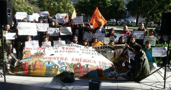 Solidaridad con militantes sociales detenidos en Colombia
