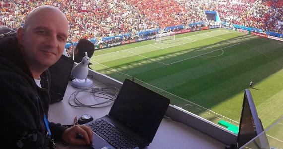 """""""En el periodismo deportivo se analiza pensando demasiado en el resultado"""""""