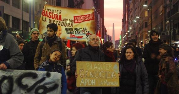 Blaquier: nuestra lucha te juzga, nuestra justicia te condena