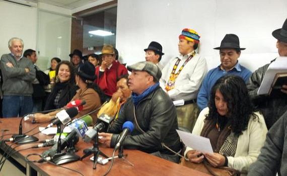 Ecuador: trabajadores e indígenas convocan a paro nacional