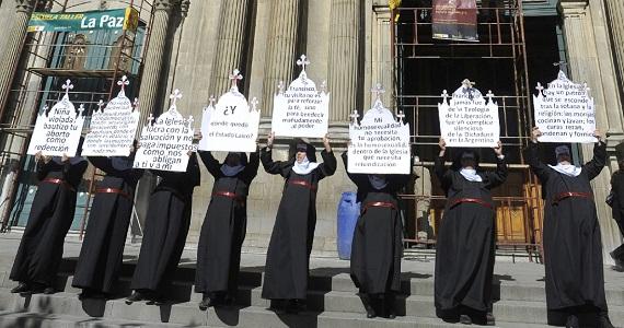 La resistencia feminista a la visita de Bergoglio a Nuestra América