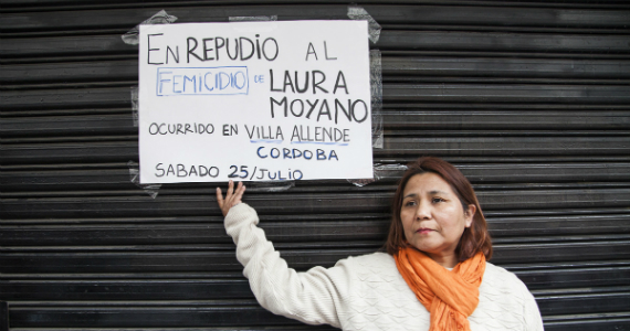 """Laura Moyano: """"Vamos a volver a marchar por ella las veces que haga falta"""""""