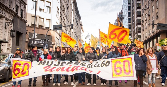 """Mujeres de la 60: """"la lucha nos llevó a estar todas juntas"""""""