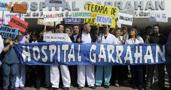 El kirchnerismo votó el recorte de Macri en el Garrahan