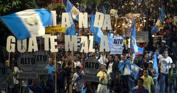 Guatemala: el derrotero de una trama de corrupción