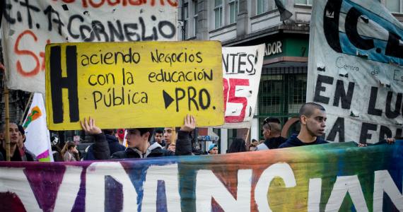 El decir y el hacer en torno a la educación en las presidenciales de 2015