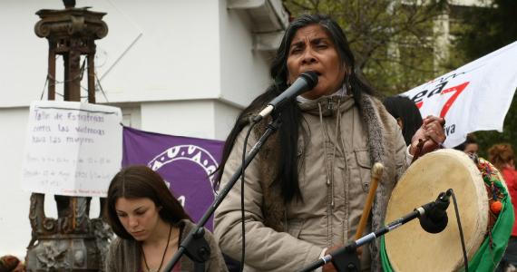 """Norma Aguirre en el #ENM: """"Hasta para morir se nos invisibiliza"""""""