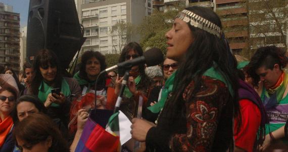 Mesa Latinoamericana en el ENM: contra el avance sobre cuerpos y territorios (II)