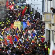 Ecuador: continúan las movilizaciones contra enmiendas constitucionales