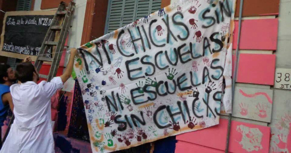 Ni chicxs sin escuelas, ni escuelas sin chicxs