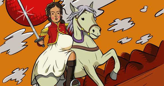 """Juana, la """"antiprincesa"""" que luchó por la liberación"""
