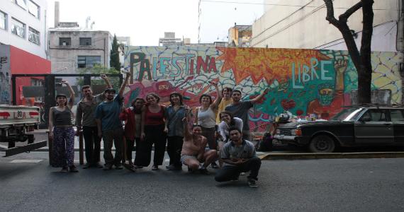 Mural por Palestina 2