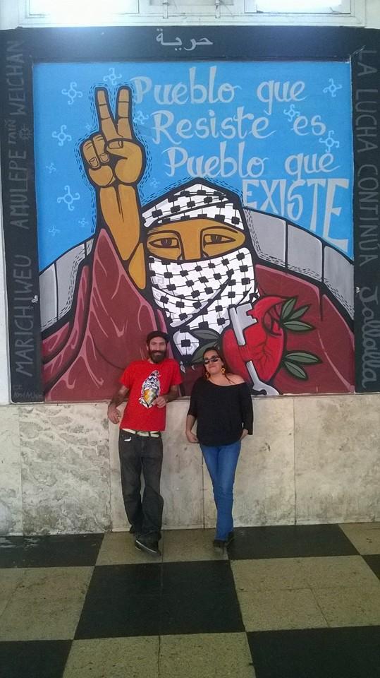 Mural por Palestina cordoba