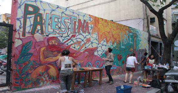 Mural por Palestina