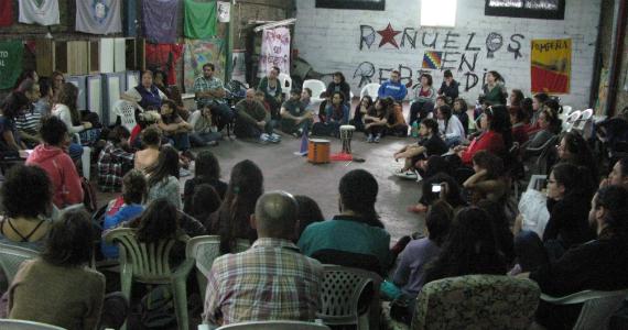 Pañuelos en Rebeldía: viviendo el Taller de Talleres