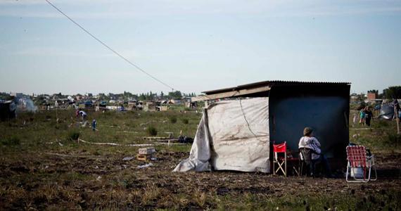 Merlo: dos mil familias ocupan terrenos y piden ser reconocidas por el Estado