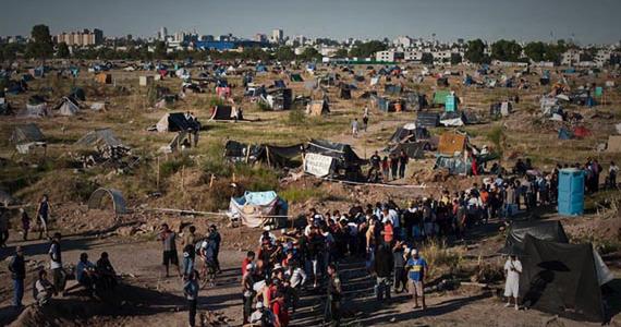 Campo Tongui: habitar la resistencia
