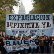 Expropian el BAUEN a favor de sus trabajadores y trabajadoras
