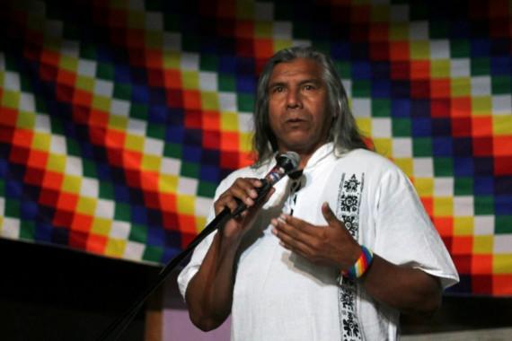 "Acampe QOPIWINI: ""Venimos a buscar diálogo, no a levantar la bandera de un partido"""