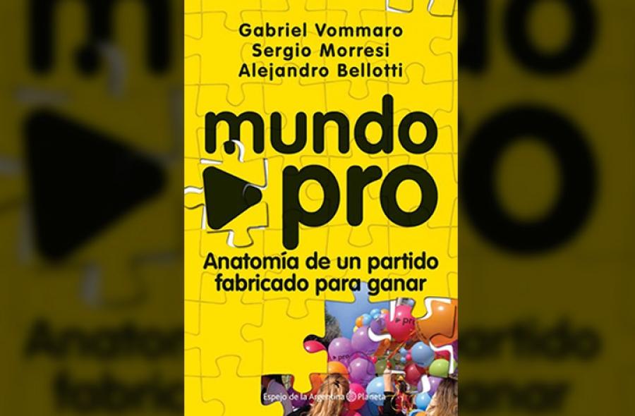 Mundo Pro: Un libro sobre la política vista en color amarillo