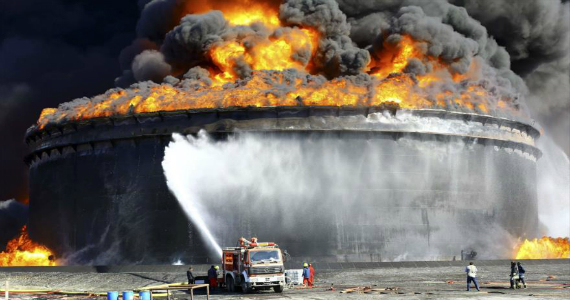 El Estado Islámico a la caza del petróleo libio