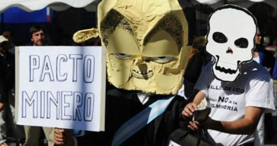 Las asambleas ciudadanas rechazan el Pacto Federal Minero de Macri