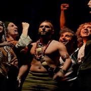 Teatro: Los indios estaban cabreros