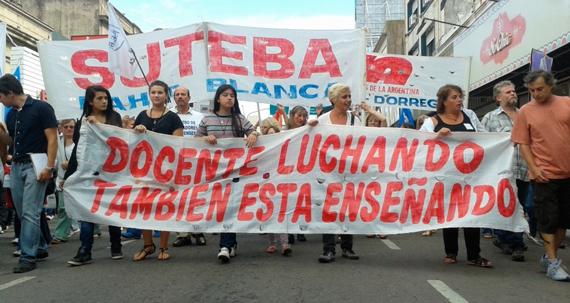 """Los """"ñoquis"""" no se dan por vencidos a 100 días del gobierno macrista"""