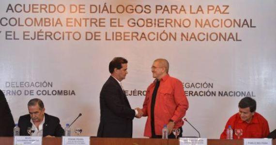 Colombia: inicia fase pública del proceso de paz entre el gobierno y el ELN