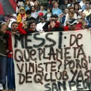 Messi, no vengas a jugar a la Argentina