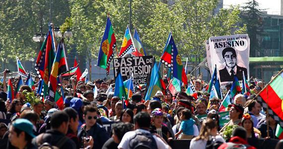 Militarización en Chile: armas de guerra, aviones no tripulados y drones para reprimir al pueblo mapuche