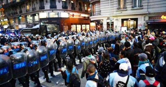 Protocolo antipiquetes: la protesta de 5 minutos que pretende el Estado
