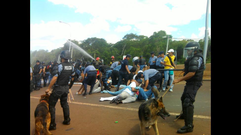 Misiones: dos años de la represión en el Puente Garupá