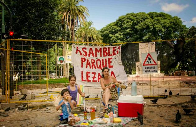 Asamblea del Parque Lezama: proteger el espacio verde de miles de habitantes
