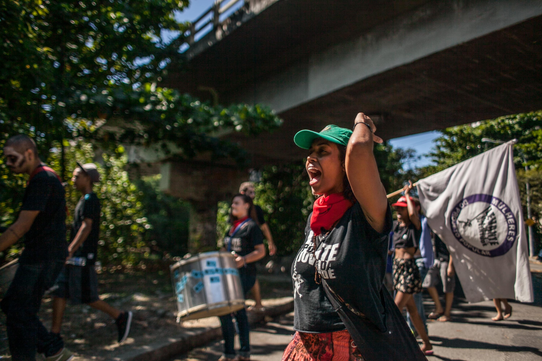 """Nao vai ter golpe"", el grito del feminismo popular en Brasil"