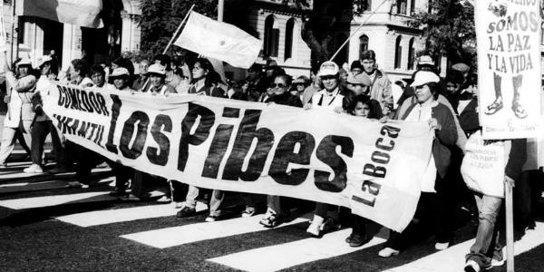 Los Pibes, organización y lucha durante 20 años