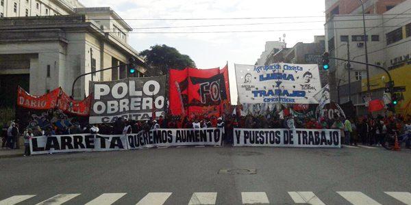 Ante las mentiras de Larreta, cooperativistas ocuparon el Ministerio de Desarrollo de la ciudad