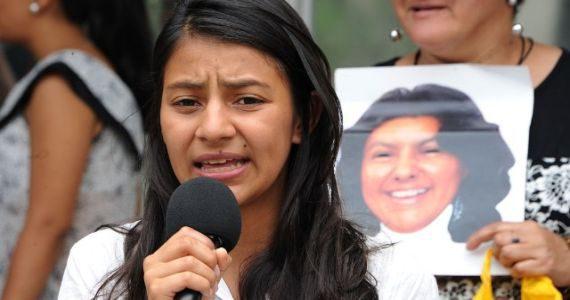 """""""El Estado hondureño es responsable del asesinato de mi madre"""""""