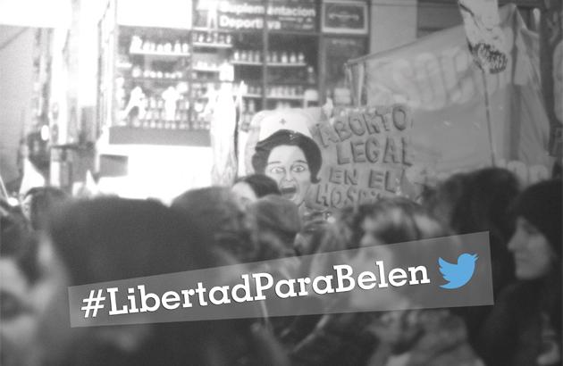 #LibertadParaBelén, la experiencia inédita de un hashtag que se convirtió en TT