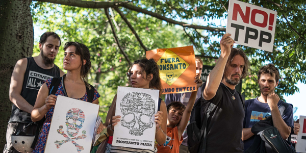 El planeta se moviliza contra Monsanto