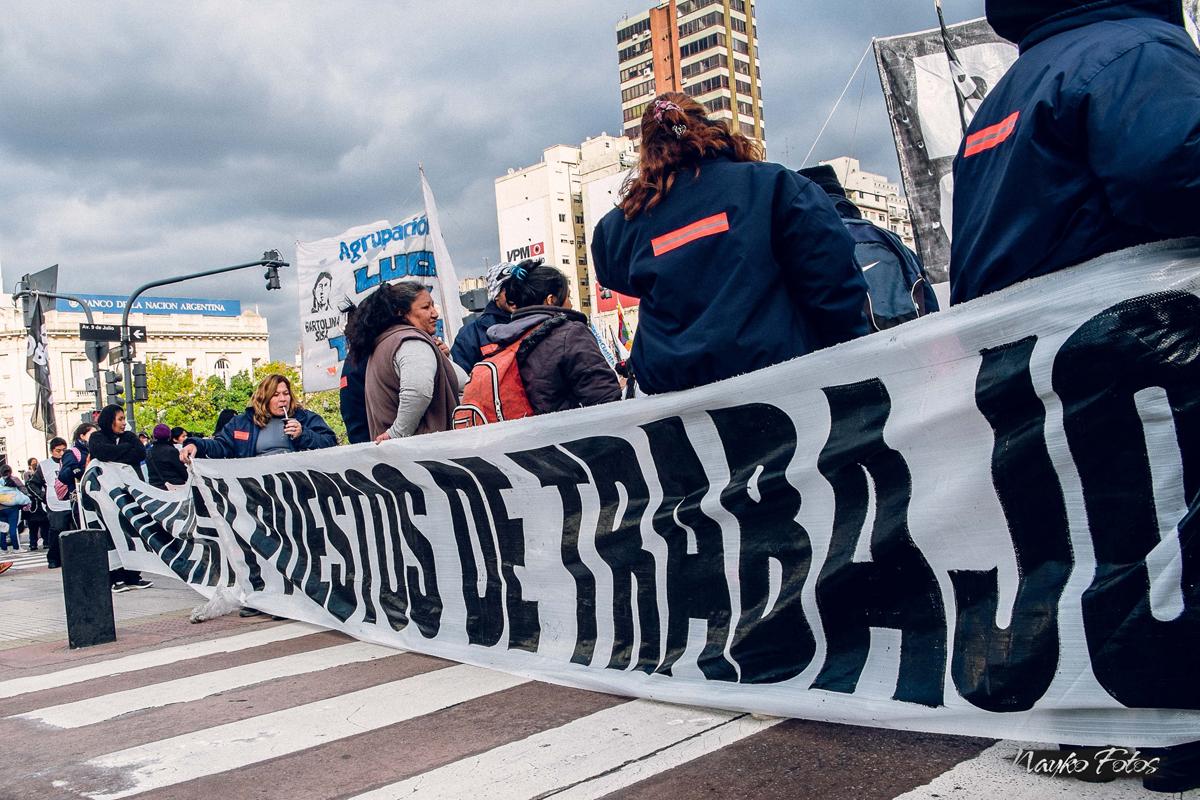 Cooperativas y fábricas recuperadas movilizadas en defensa del trabajo