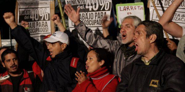 """Ocupación de la Jefatura de Gobierno: """"Lo invitamos a Larreta a vivir con 4000 pesos por mes"""""""