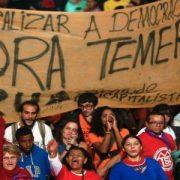 Brasil: ordenan a Fuerzas Armadas reprimir 'Ocupa Brasilia'